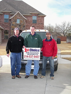1st Choice Foundation Repair Company - Bedford, Texas